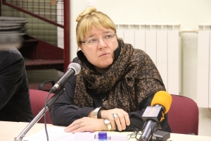 Елена Жемкова, исполнительный директор Международного общества «Мемориал», модератор круглого стола: